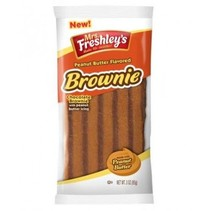 Mrs Freshley's Peanut Butter Chocolate Brownie 85 Gram