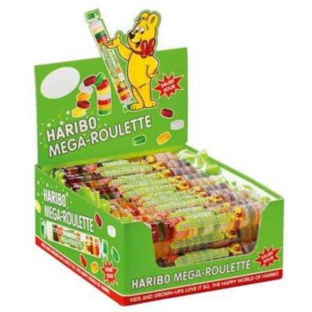 Haribo Haribo Mega Roulette Sour 45 gram 40 Stuks