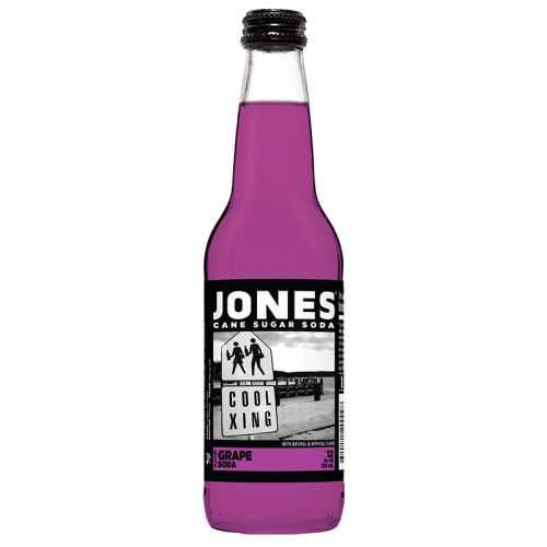 Jones Soda - Grape Soda 355ml
