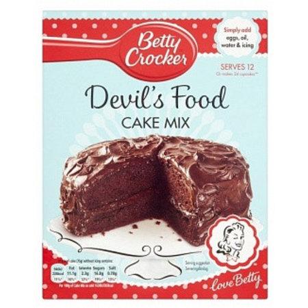 Betty Crocker Betty Crocker - Devils Food Cake Mix 425 Gram (UK)