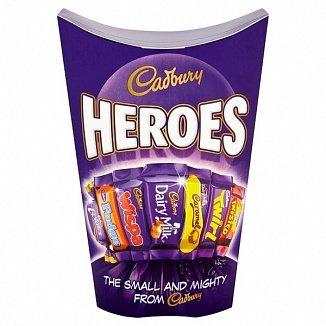 Cadbury Cadbury - Heroes Carton 185 Gram