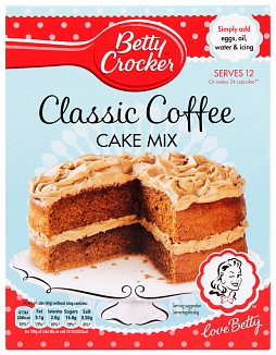 Betty Crocker Betty Crocker - Classic Coffee Cake Mix (UK Product)