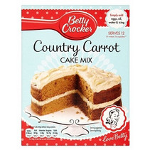 Betty Crocker - Country Carrot Cake Mix (UK Product)