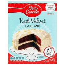 Betty Crocker - Red Velvet Cake Mix (UK Product)