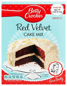 Betty Crocker Betty Crocker - Red Velvet Cake Mix (UK Product)