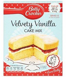Betty Crocker Betty Crocker - Velvety Vanilla Cake Mix