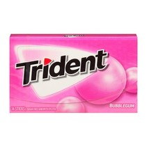 Trident - Bubblegum 14 Sticks