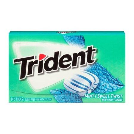 Trident Trident - Minty Sweet Twist 14 Sticks