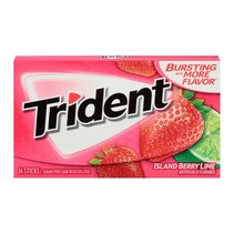 Trident - Island Berry Lime 14 Sticks
