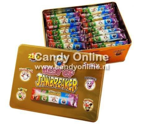 Zed Candy Zed - Blik Best of Jawbreaker 65 Stuks