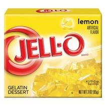 Jell-O - Lemon Gelatin 85 Gram