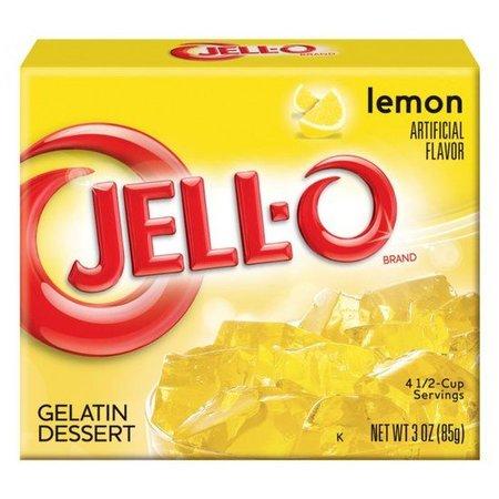 Jell-O Jell-O - Lemon Gelatin 85 Gram