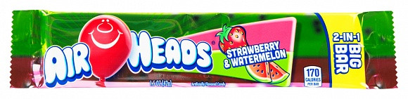 Airheads Airheads Strawberry & Watermelon 2-in-1