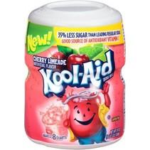 Kool Aid 8QT Cherry Limeade 538 Gram