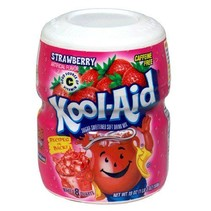 Kool Aid 8QT Strawberry 538 Gram