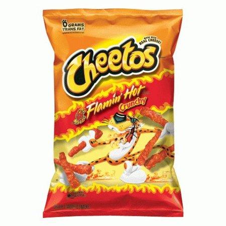 Cheetos Cheetos Flamin Hot Crunchy 226 Gram