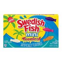 Swedish Fish - Tropical Videobox 99 Gram