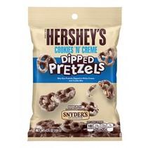 Hershey'sy/Snyders - Dipped Cookies 'n Creme Coated Pretzel 120 Gram