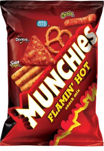 Frito Lay Munchies - Flamin Hot Snack Mix 262,2 Gram