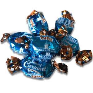 Walkers Walkers Caramel Seasalt Toffees 200 Gram