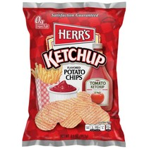 Herr's - Tomato Ketchup Flavoured Potato Chips 99,2 Gram