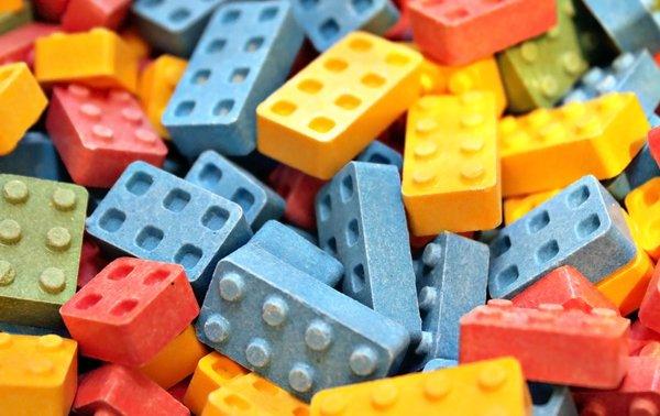 Overige Candy Blox 500 Gram (Look a Like Lego Snoep)