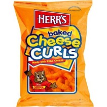 Herr's - Cheese Curls 199 Gram