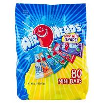 Airheads Mini Bars 80 Stuks