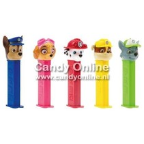 Pez - Dispencer Paw Patrol 12 Stuks