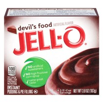Jell-O - Devil Instant Mix 107 Gram