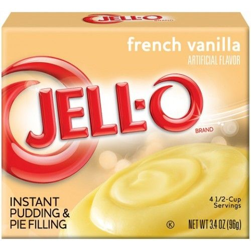 Jell-O Jell-O - French Vanilla Pundding Instant Mix 107 Gram