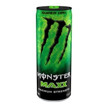 Monster Energy MAXX Super Dry Extra Strength 355ml