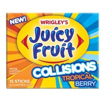 Juicy Fruit - Collisions Tropical Berry 15 Sticks