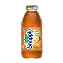 Snapple - Peach Iced Tea 473ml 12 Stuks