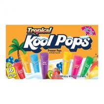 Kool Pops - Tropical Freezer Bars 16-Pack