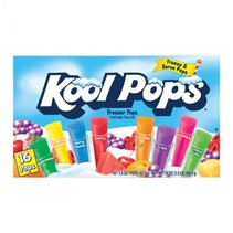 Kool Pops - Assorted Freezer Bars 16-Pack