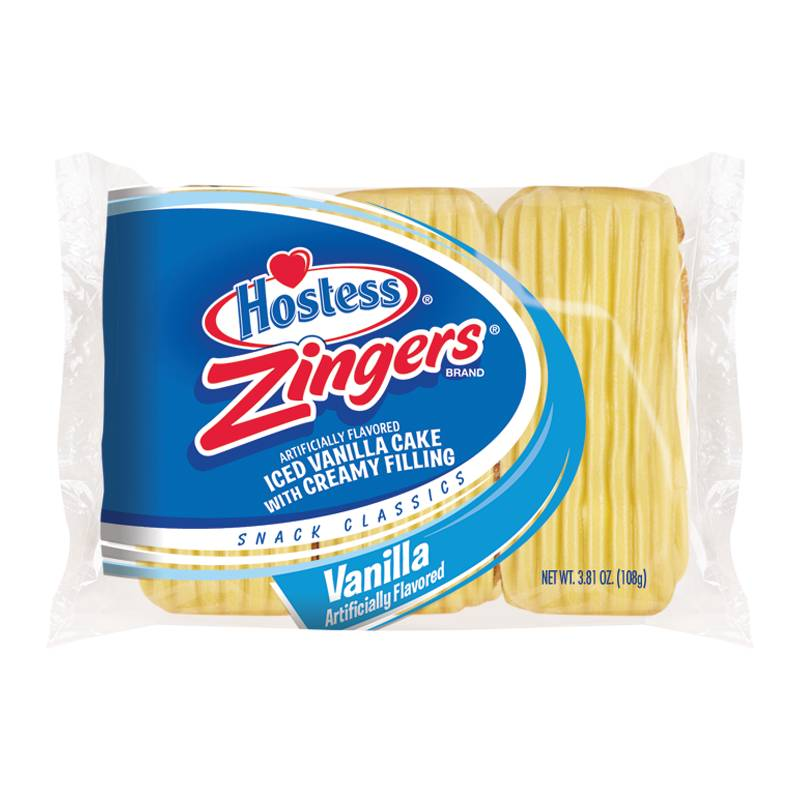 Hostess Hostess - Vanilla Zingers - Triple Pack 108 Gram