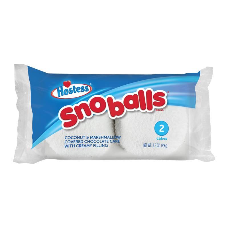 Hostess Hostess - Sno Balls - Twin Pack 99 Gram