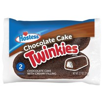 Hostess - Chocolate Cake Twinkies - Twin Pack 77 Gram