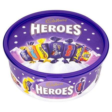 Cadbury Cadbury - Heroes Tube 660 Gram