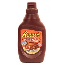 Reese's - Chocolate & Peanut Butter Shell Topping 204 Gram