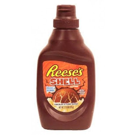 Reese's Reese's - Chocolate & Peanut Butter Shell Topping 204 Gram
