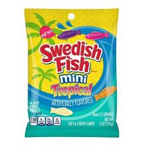 Swedish Fish - Mini Tropical 142 Gram