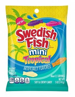 Swedish Fish Swedish Fish - Mini Tropical 142 Gram
