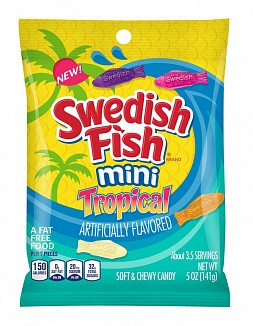 Swedish Fish Swedish Fish - Mini Tropical 142 Gram
