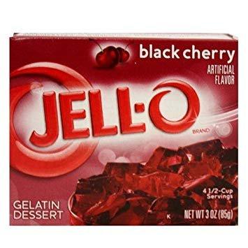 Jell-O Jell-O - Blackberry Fusion Gelatin 85 Gram - Copy