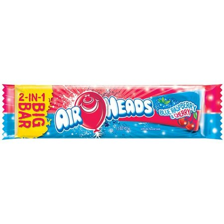 Airheads Airheads Big Bar Blue Raspberry & Cherry 42,5 Gram