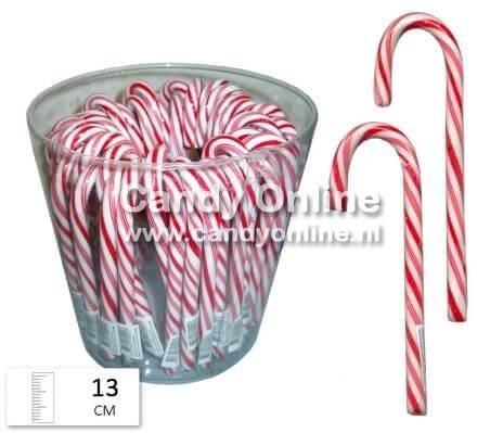 Overige Candy Canes Rood / Wit 13 cm 50 Stuks