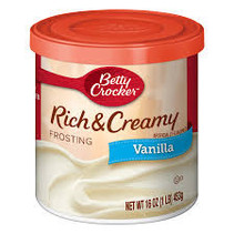 Betty Crocker - Vanilla Frosting 453 Gram