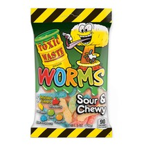 Toxic Waste - Sour Gummy Worms 142 Gram
